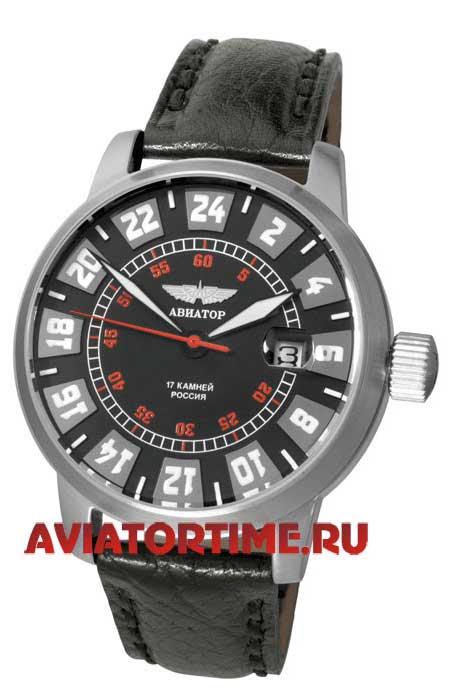 Российские часы авиатор 2623/1225555 мужские механические часы