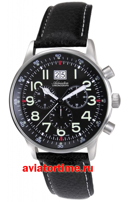 мужские наручные швейцарские часы adriatica