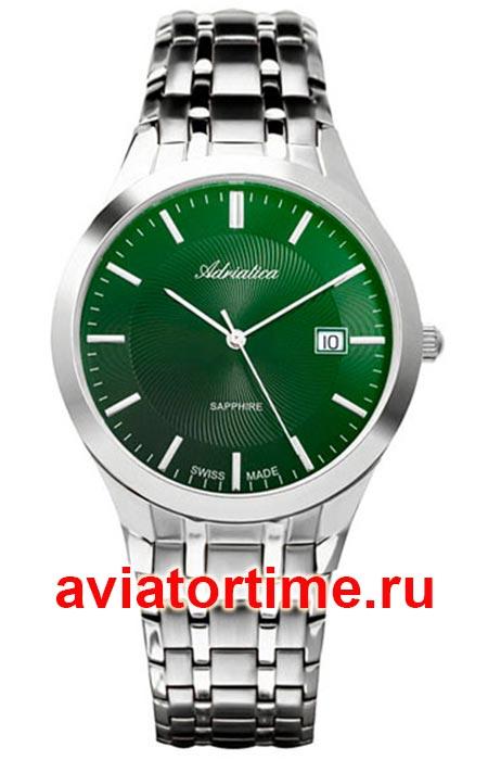 a635eb92 ЧАСЫ ADRIATICA 1236.5110Q - Швейцарские мужские наручные часы ...