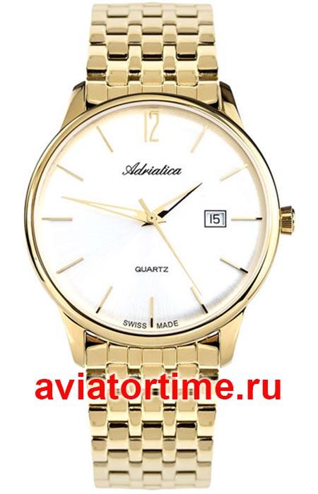 b417db20 ЧАСЫ ADRIATICA 8254.1153Q - Швейцарские мужские наручные часы ...