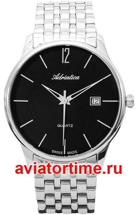 8c6bec3a ЧАСЫ ADRIATICA 8254.5154Q - Швейцарские мужские наручные часы ...