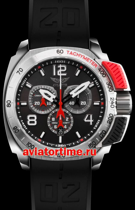 Швейцарские наручные мужские часы AVIATOR P.2.15.0.089.6 ...