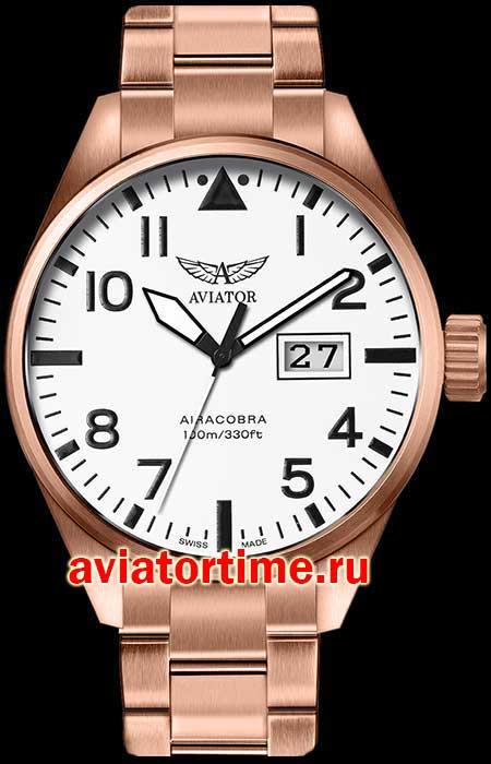 Часы Aviator V.1.22.2.151.5 Часы Nautica NAI16523G