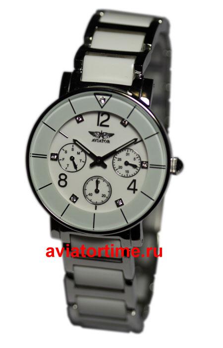 Российские часы авиатор AVW8629L64 женские