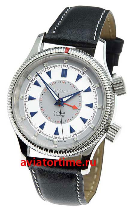 Часы Полет Буран 2612/6503716 сигнал мужские механические наручные