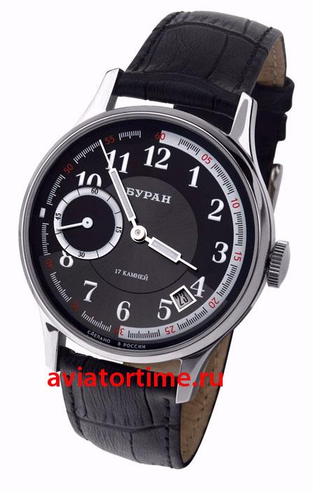 Российские часы буран 3105/1571280 мужские механические часы