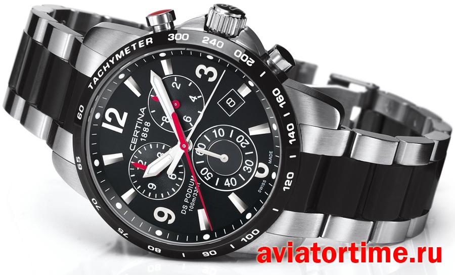 Швейцарские наручные мужские часы Certina C001.617.22.057.00 DS