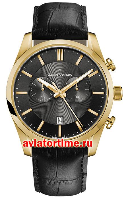 8d9a9abb Мужские швейцарские часы Claude Bernard 10103 37J GID2 Sophisticated  Classics