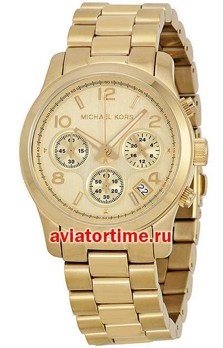 часто золотые часы michael kors мужские ней