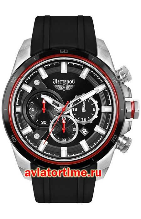 51eb966d Мужские российские наручные часы Нестеров H0571A02-154EJ Истребитель ...