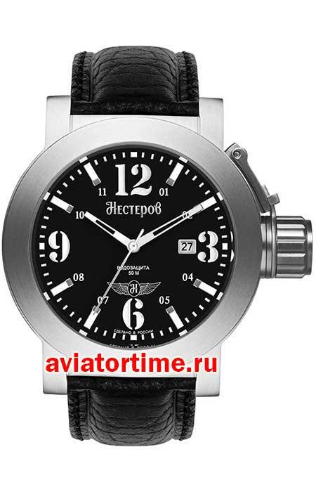 3dfa3822 Мужские Российские наручные часы НЕСТЕРОВ H0957B02-05E САМОЛЕТ ...
