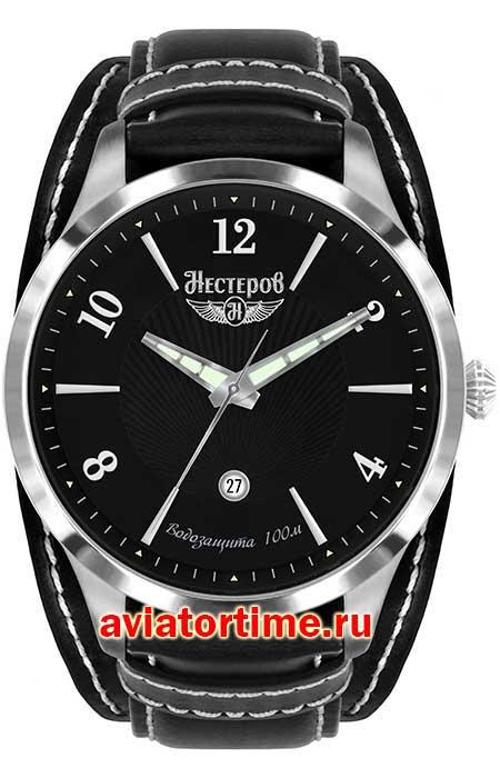 21f05d8e Мужские Российские наручные часы НЕСТЕРОВ H0983A02-04E Истребитель И ...