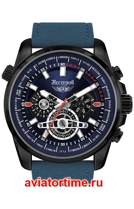 1846cf4f Мужские Российские наручные часы НЕСТЕРОВ H249132-132B Истребитель ...