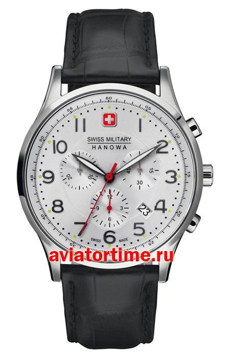 Швейцарские наручные мужские часы Swiss Military Hanova 6-4187.04 ... e76f4671d0a77