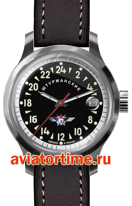 304bd51f Российские часы штурманские 2431/1767937. Серия ОТКРЫТЫЙ КОСМОС. Мужские  автоматические часы