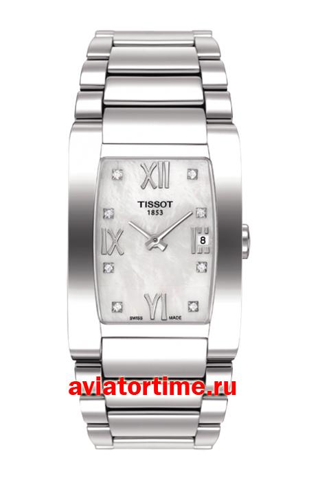 ... женские часы Tissot T007.309.11.116.00 GENEROSI-T