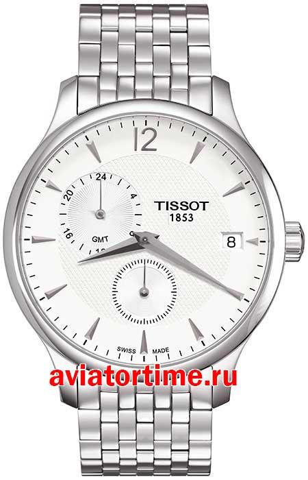 Tissot T063.639.11.037.00 T-CLASSIC TRADITION GMT. Швейцарские ... 3baf65a1746