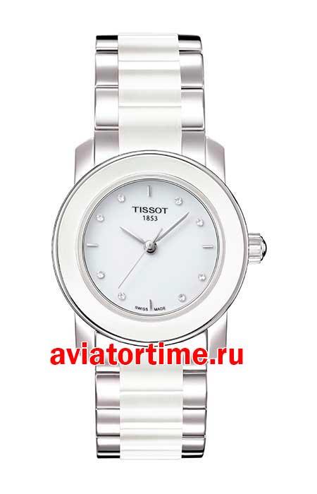 3b142d481e3b Tissot T064.210.22.016.00 T-LADY CERA. Швейцарские наручные женские ...
