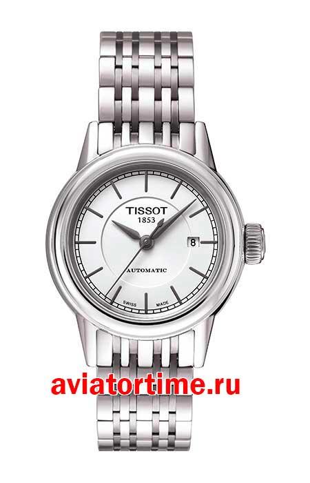 Tissot T085.207.11.011.00 T-CLASSIC CARSON AUTOMATIC LADY ... bb38db92f7f