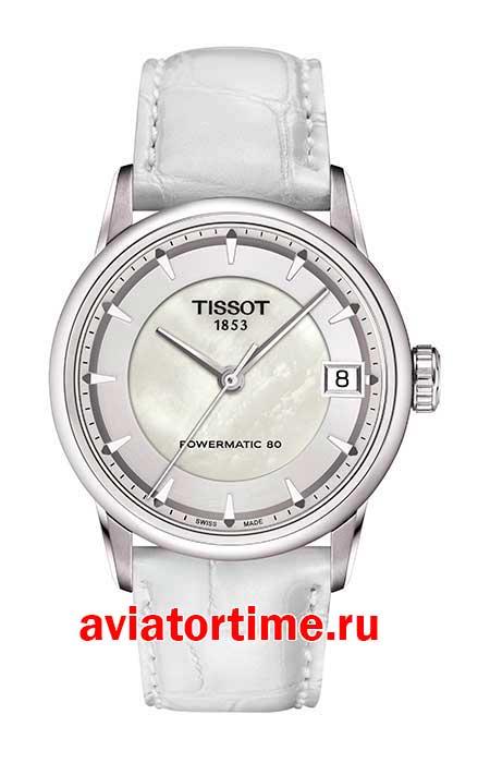 Tissot T086.207.16.111.00 T-CLASSIC LUXURY POWERMATIC 80 LADY ... aa29feb735a