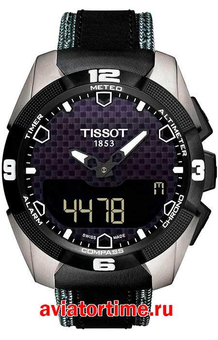 Швейцарские наручные мужские часы Tissot T091.420.46.051.01 T-TOUCH ... 8bb1adb2af2