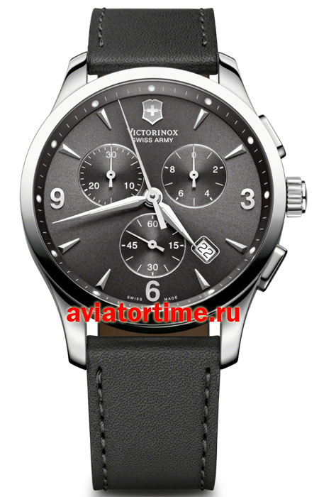 5fbc7864 Мужские наручные швейцарские часы. Victorinox 241479. Коллекция Alliance  Chronograph