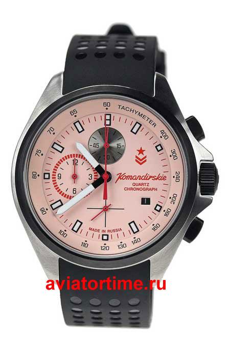 Мужские наручные кварцевые командирские часы Восток - российские часы