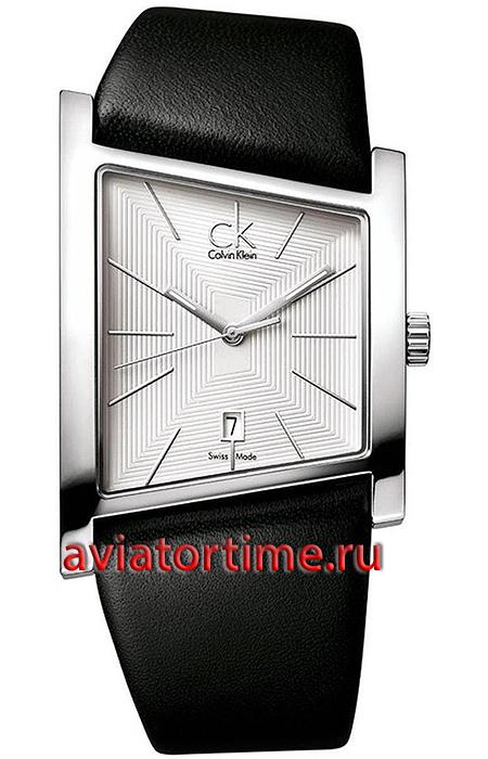 bf43637ffcac6 Швейцарские наручные мужские часы Calvin Klein K0Q21120