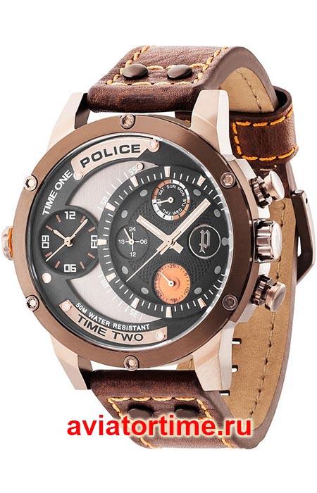45bfbcc0b777 Итальянские наручные часы POLICE PL.14536JSBN/02 ADDER